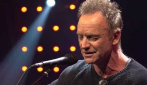 Message in a Bottle - Sting en acoustique dans le Grand Studio RTL