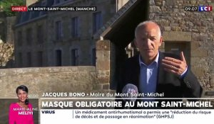 Mont Saint-Michel : port du masque obligatoire lors de fortes affluences