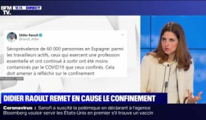 Story 3 : Didier Raoult remet en cause le confinement - 14/05