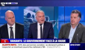 Story 1 : Le gouvernement face à la vague des variants du Covid-19 - 13/01