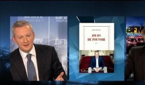 BFM Politique : l'interview du Point, Bruno Le Maire répond aux questions de Christophe Ono-dit-Biot - 17/02