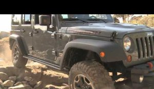 2013 Jeep Wrangler Rubicon 10th Anniversary on the Rubicon Trail