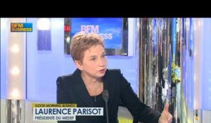 La fin des assises de l'entrepreneuriat : Laurence Parisot dans Good Morning Business - 9 avril