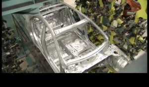 Mercedes-Benz Production A-Class - Body Shop