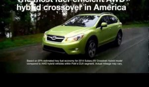 The all-new XV Crosstrek Hybrid