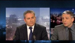 BFM Politique: l'after RMC, Xavier Bertrand interviewé par Jean-François Achilli - 17/03