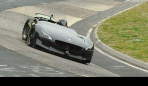 The Peugeot EX1 New record on the Nordschleife
