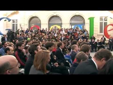 Google @ paris la vidéo de linauguration des bureaux de google