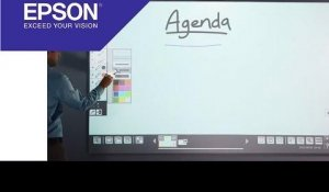 EB-1400 series video tutorial: Input and Open Files | Epson