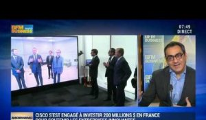 Cisco renforce son investissement dans la French Tech - 15/12