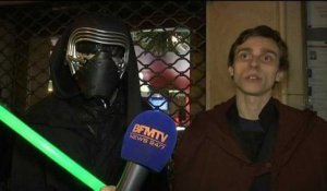 """Star Wars"": les fans dans les starting blocks au Grand Rex à Paris"