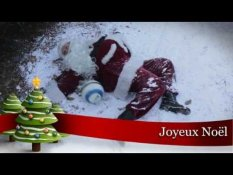 Le Pere Noel Tue Par Une Equipe De Foot Sur Orange Videos