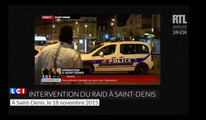 Les images de l'intervention du RAID à Saint Denis