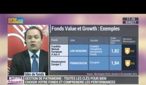 Idées de fonds: Value ou growth: Quel type de gestion choisir ? - 11/12