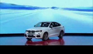 World Premiere all-new BMW X4 M40i at 2016 NAIAS Detroit | AutoMotoTV