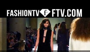 Topshop Unique at London Fashion Week 16-17 | FTV.com
