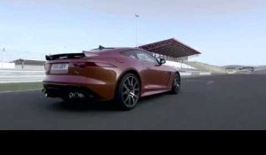 World premiere Jaguar F-Type SVR at Geneva Motor Show 2016 | AutoMotoTV