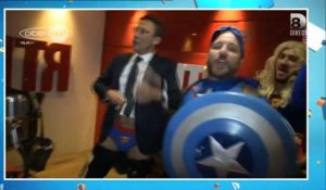TPMP : Julien Courbet en Superman... ou presque !