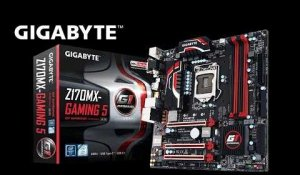 GIGABYTE 100 Series Z170MX GAMING 5 Motherboard Unboxing & Overview