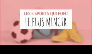 Top 5 des sports qui font le plus mincir