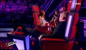 "Moment de solitude pour Zazie dans ""The Voice"" ! (Video)"