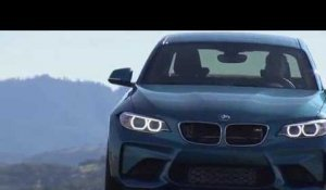 The new BMW M2 Driving on the Racetract at Laguna Seca | AutoMotoTV