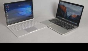 FIGHT : Surface Book VS MacBook Pro