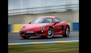 Supertest Porsche Cayman S 2014