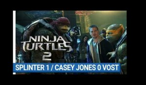 NINJA TURTLES 2 - Splinter 1/Casey Jones 0 (VOST)