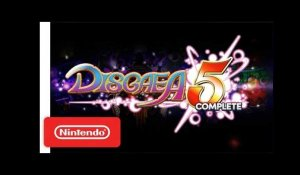 Disgaea 5 Complete - Nintendo Switch Trailer