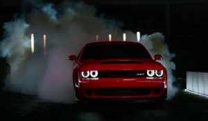 Dodge Challenger SRT Demon, une bête de course !