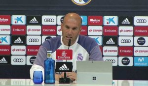"32e j. - Zidane: ""On travaille face au but"""