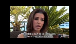 Festival de Cannes Interview d'Eva Longoria