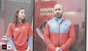 RMC Running Sessions avec New Balance - Interview de Mouss et Fidji