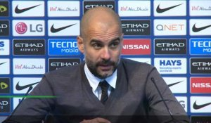 "14e j. - Guardiola: ""Je n'ai pas de regrets"""