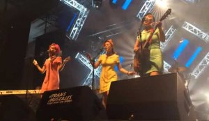 TransMusicales 2016. The Barberettes au parc-expo
