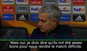 Groupe A - Mourinho : ''Un match difficile""