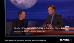 Saturday Night Live : Gad Elmaleh se moque de la version française chez Conan O'Brien