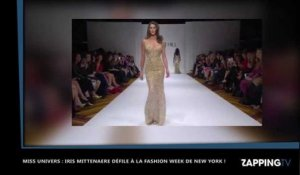 Iris Mittenaere sexy défile à la Fashion Week de New York (Vidéo)
