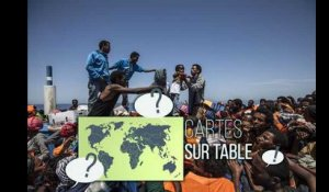 Cartes sur Table : comprendre les migrations vers l'Europe