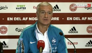 Danemark / France : Deschamps joue la prudence