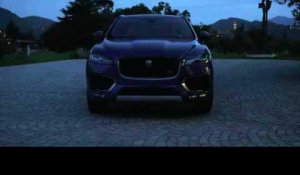 The all-new Jaguar F-PACE - Exterior Design in Caesium Blue | AutoMotoTV