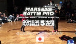 Qualification Marseille Baby Battle Pro : BP - Japon