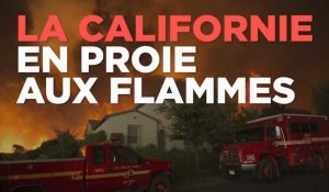 Un gigantesque incendie ravage la Californie