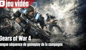 Longue séquence de gameplay pour Gears of War 4