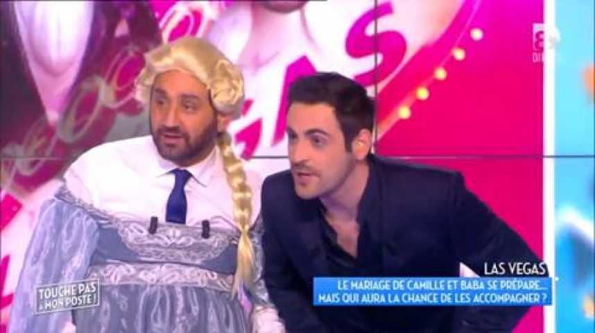 Mariage de Cyril Hanouna avec Camille Combal  Mathieu Delormeau fait la  tête