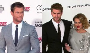 Chris Hemsworth parle de la relation de Liam et Miley Cyrus
