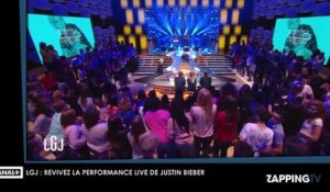 Justin Bieber : de passage à Paris, revivez sa performance live à couper le souffle sur le plateau du Grand Journal