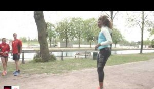 Running Sessions avec New Balance - Session du 23 avril 2016 avec Muriel Hurtis