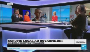 Scrutin local au Royaume-Uni : Londres, l'exception travailliste